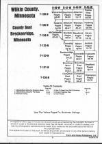 Table of Contents, Wilkin County 1991